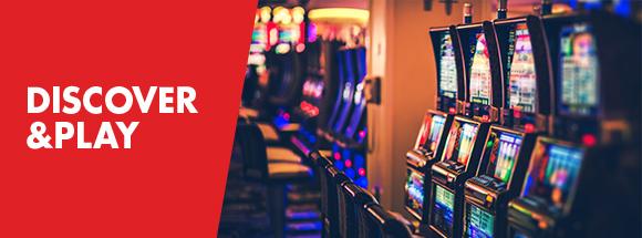 Offre Discover & Play au Grand Casino de Namur