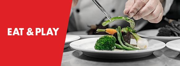 Offre Eat & Play au Grand Casino de Namur
