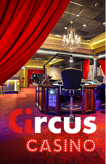 Circus Casino - inside one of our Circus casino gaming halls