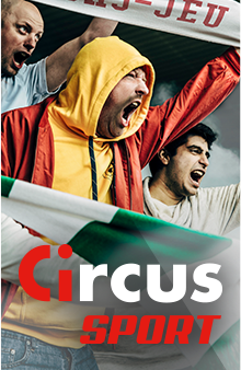 Circus Sport - fans cheering on their team