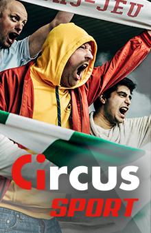 Circus Sport - supporters en train d'encourager leur équipe